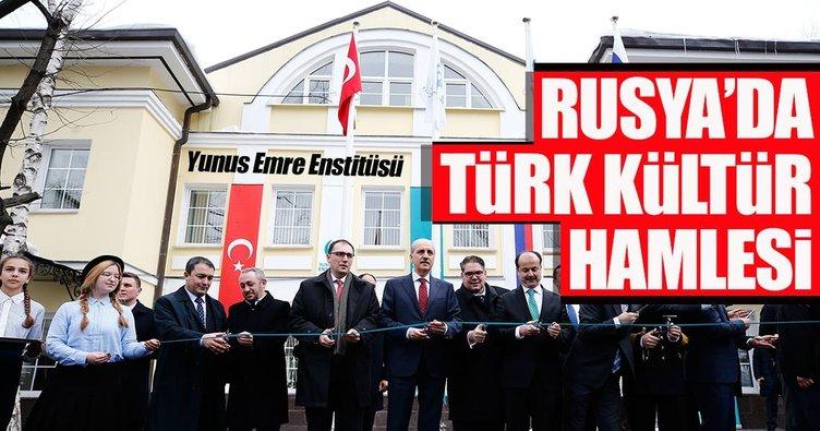Rusya'da Türk kültür hamlesi