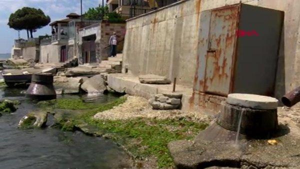Kanalizasyon suyu denize aktı; Gümüşyakalılar isyan etti   Video