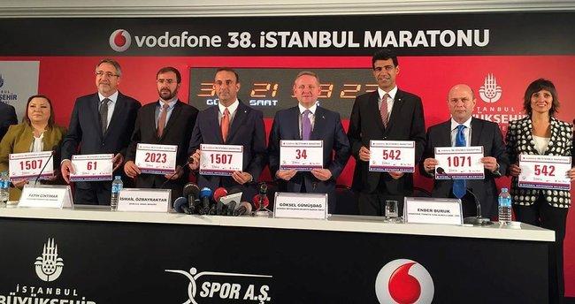 Vodafone 38. İstanbul Maratonu, şehitler için koşulacak