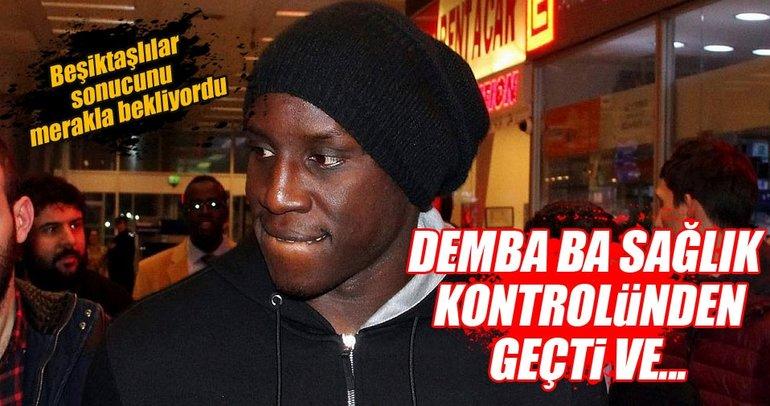 Demba Ba sağlık kontrolünden geçti