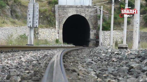 Tarihi demiryolu tüneli kültür varlığı olarak tescil edildi | Video