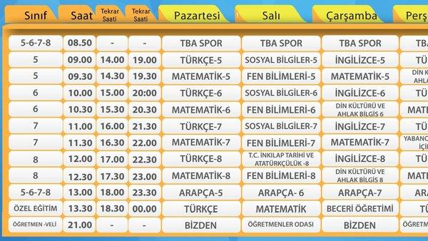 TRT EBA TV canlı ders yayınları (20 Nisan 2021 Salı) Ders Programı Saatleri! EBA TV ilkokul, ortaokul, lise ders tekrarları saatleri