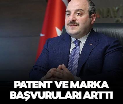 Bakan Varank: Patent yüzde 28 ve marka başvuruları yüzde 47 arttı