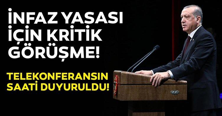 Ceza infaz düzenlemesi ile igili son dakika gelişmesi! Başkan Erdoğan ile Adalet Bakanı görüşecek...