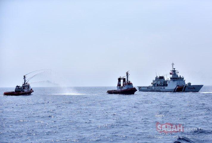 """Doğu Akdeniz'de Kıbrıs Barış Harekatı'na özel peç! """"Ayşe tatile çıktı"""""""