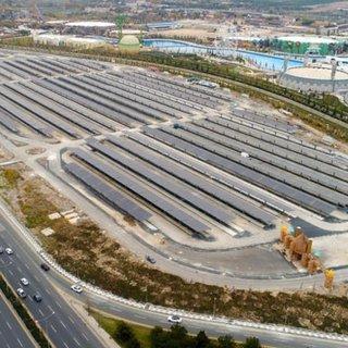 Altı otopark üstü güneş enerjisi santrali!