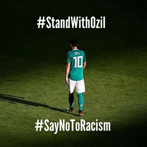 Dünya ayağa kalktı! Mesut Özil'e büyük destek...