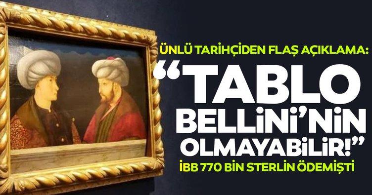 SON DAKİKA! Bardakçı: İBB'nin aldığı Fatih Tablosu Bellini'nin olmayabilir!