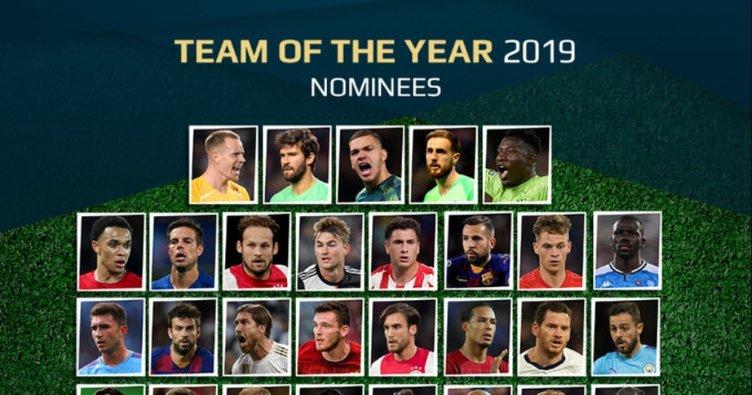 UEFA, yılın 11'i için aday oyuncuları oylamaya sundu