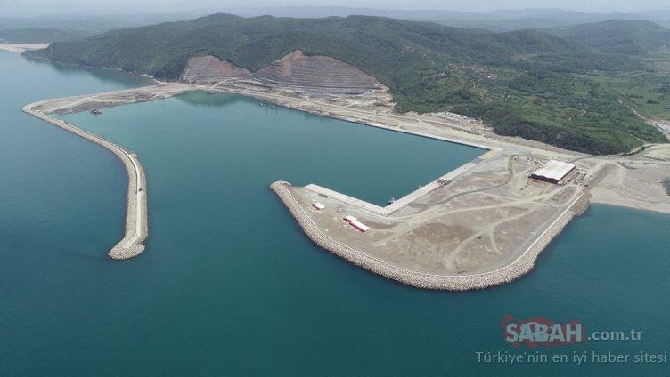 Sultan Abdülhamid'in rüyası gerçek oluyor! Filyos Limanı projesinde sona gelindi