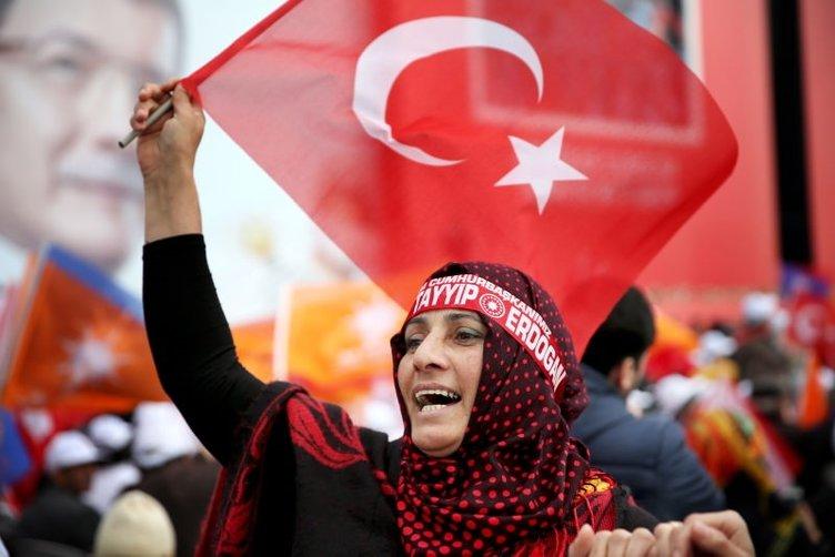 AK Parti Büyük İstanbul Mitingi'nden kareler