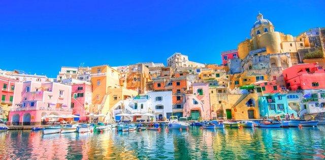 Dünyanın en renkli 10 yeri