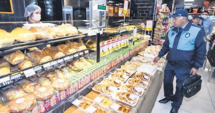 Koronavirüs tedbirleri kapsamında marketler denetlendi