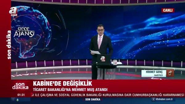 Son dakika: Kabine'de iki yeni Bakanlık! Gazeteci Hikmet Genç kabine değişikliğini A Haber'de değerlendirdi | Video