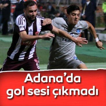 Adana Demirspor 0-0 Hatayspor | Maç sonucu