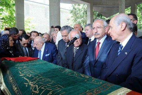 Nazmiye Demirel'in cenaze töreni