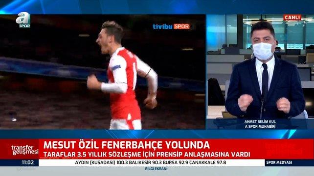 SON DAKİKA! Fenerbahçe'den bomba transfer atağı! Mesut Özil Fenerbahçe yolunda | Video