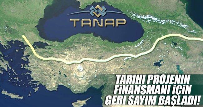 TANAP'ın Avrupa finansmanı için geri sayım başladı