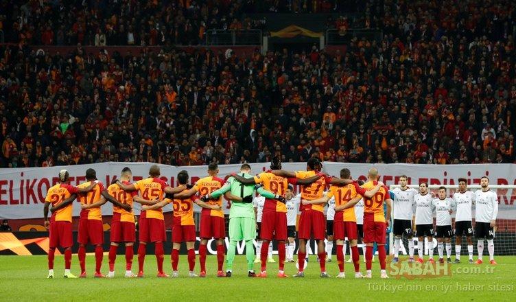 Galatasaray taraftarları Çekmeköy şehitlerimizi unutmadı