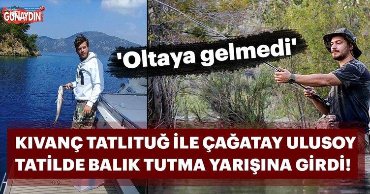 Çağatay Ulusoy, Kıvanç Tatlıtuğ'un oltasına gelmedi