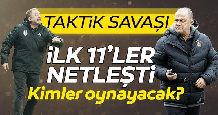 Son dakika: Beşiktaş-Galatasaray derbisine doğru...