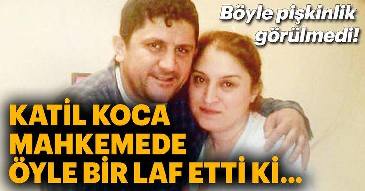Eşini sokak ortasında pompalı tüfekle öldüren sanığın cezası belli oldu!