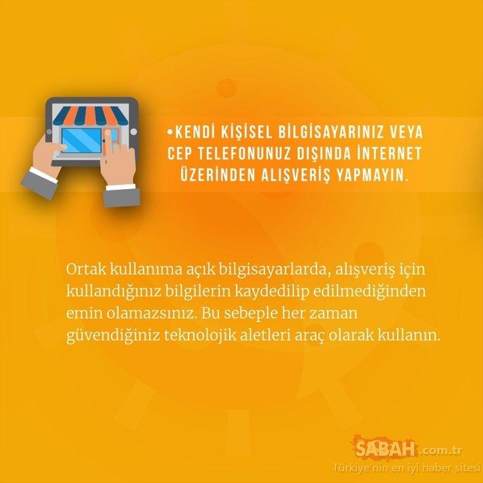 Anadolu Üniversitesinden tüketicilere güvenli e-alışveriş tavsiyeleri