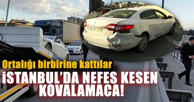 Son dakika: İstanbul Basın Ekspres yolunda hareketli anlar: Polis ateş açtı!