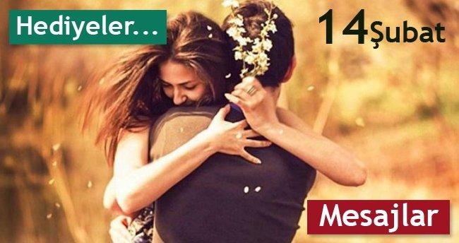 Sevgililer Günü Mesajları Uzun Kısa 14 şubat Hediye