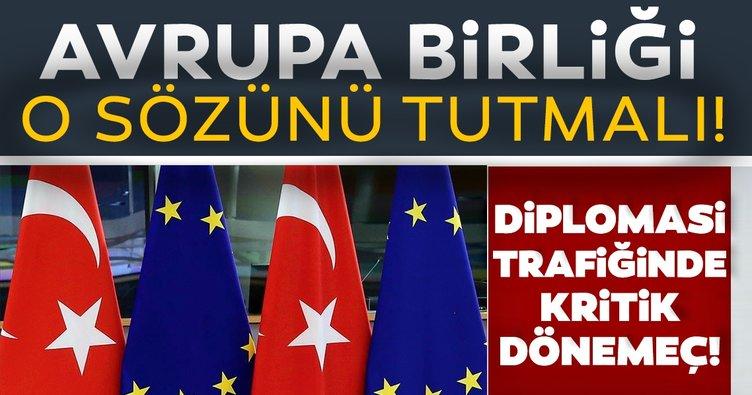 Türkiye'nin davetine AB'den evet