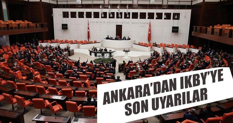 Ankara'dan IKBY'ye son uyarılar