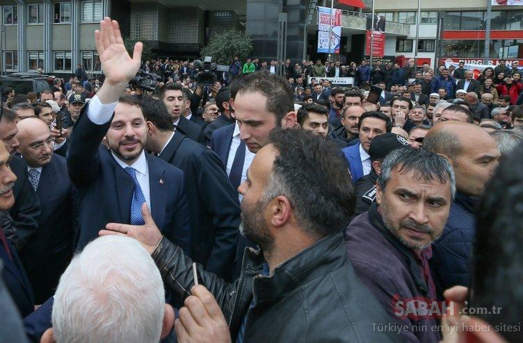 Bakan Albayrak'a Aydın'da yoğun ilgi