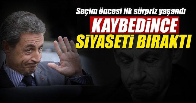 Türkiye karşıtı Sarkozy havlu attı