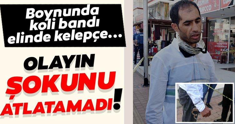 Son dakika! Antalya'da akılalmaz soygun! Kelepçelendi ve koli bandı ile bağlandı!