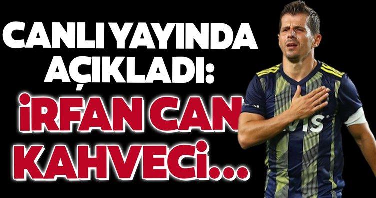 Emre Belözoğlu canlı yayında açıkladı! İrfan Can Kahveci...
