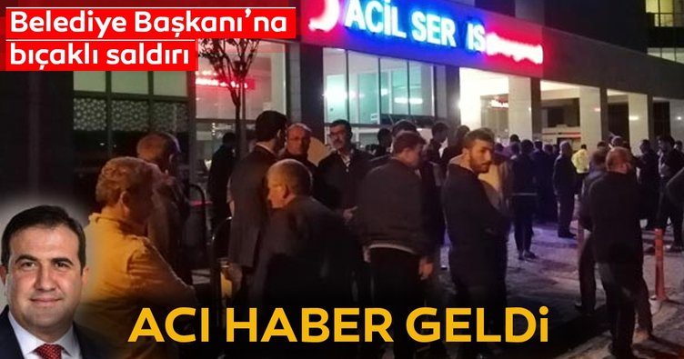 Son dakika acı haber... Konya Doğanhisar Belediye Başkanı İhsan Öztoklu bıçaklı saldırıda hayatını kaybetti