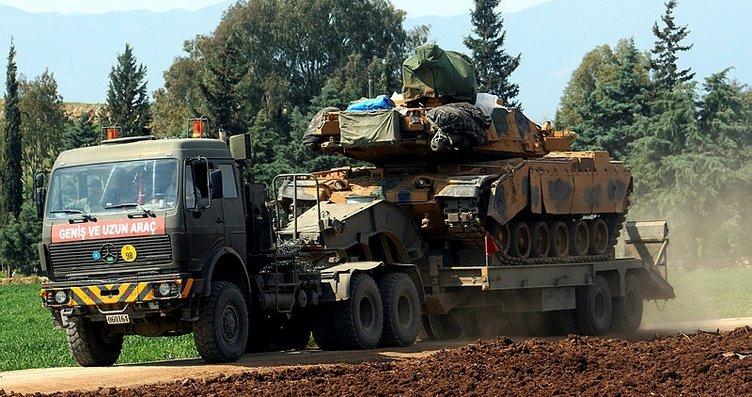 Zeytindalı harekatı kapsamında Afrin'e sevkiyat...