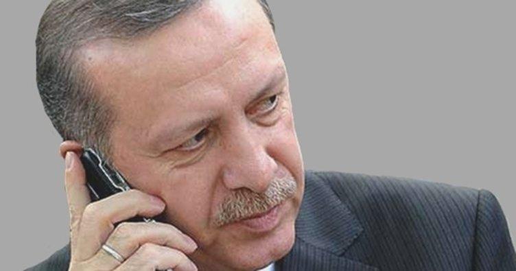 Cumhurbaşkanı Erdoğan, Nuray Hafiftaş ve Tuna Huş'un ailelerini aradı