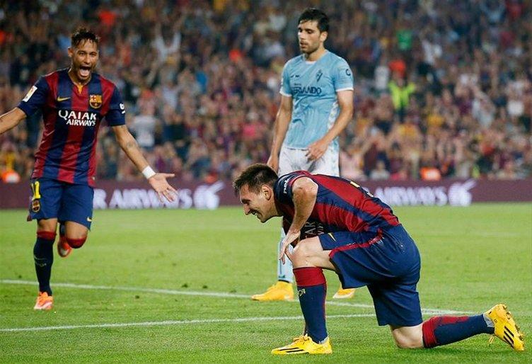 Messi 60 yıllık rekoru kırmak üzere