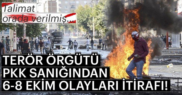 PKK/KCK sanığından 6-8 Ekim olayları itirafı