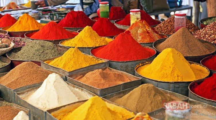 Şifacı besin baharatlar faydaları ile şaşırtıyor! Bakın hangi baharat hangi hastalığa faydalı...