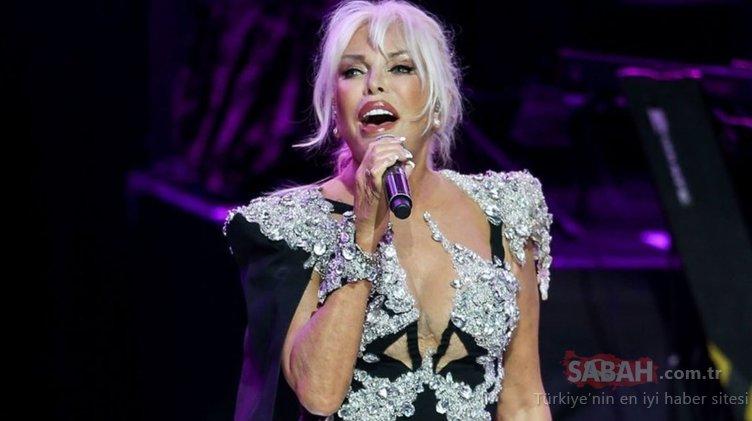 Süperstar Ajda Pekkan Harbiye Açıkhava'da unutulmaz bir konser verdi!