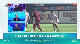 Galatasaray - Real Madrid maçında Falcao neden oynamıyor?