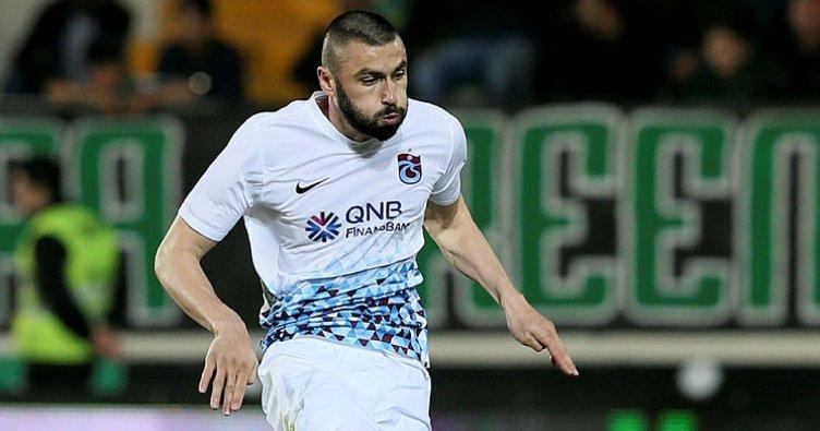 Trabzonspor'un güvencesi Burak Yılmaz