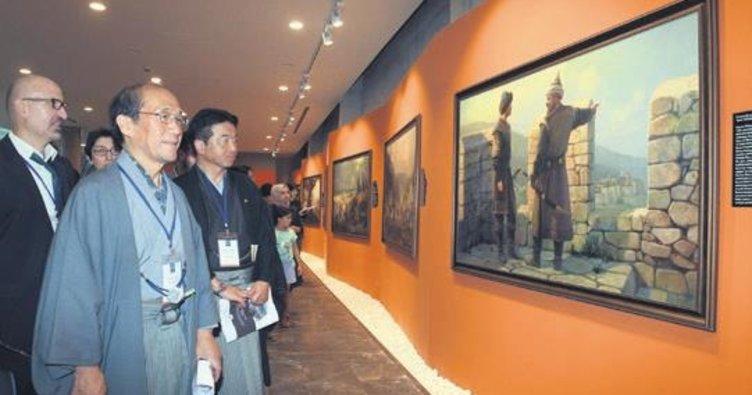 Panorama Fetih Müzesi'ne dünya hayran kaldı