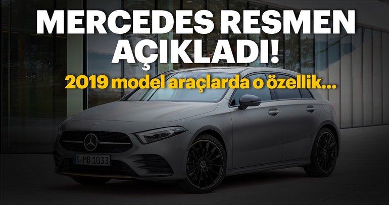 Mercedes resmen açıkladı