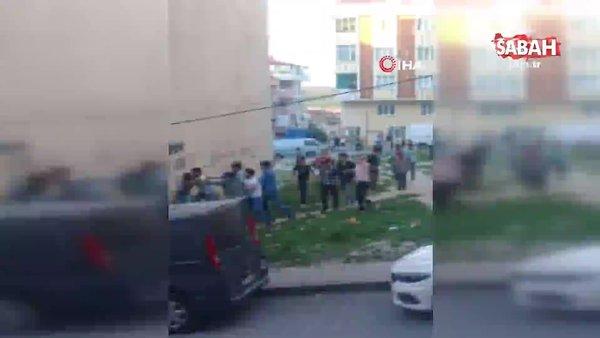 Arnavutköy'de 1 kişinin öldüğü kavgaya ait yeni görüntüler ortaya çıktı | Video