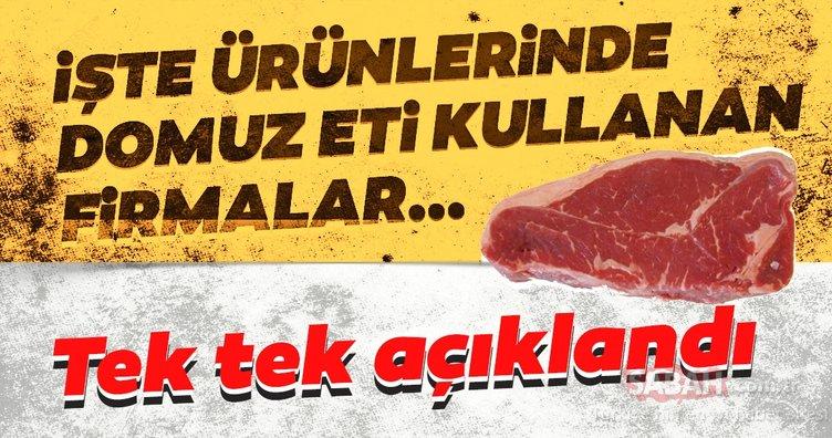 Tarım ve Orman Bakanlığı'ndan hileli ürünler duyurusu! İşte domuz eti tespit edilen o firmalar...