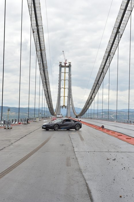 Osmangazi Köprüsü'nde tarihi geçiş
