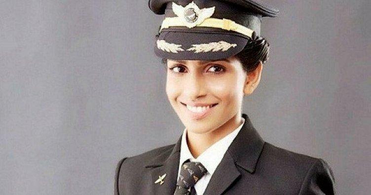 Uçan devin en genç kadın pilotu